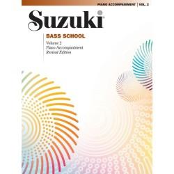 SUZUKI BASS SCHOOL / 0374S, PIANO ACCOMPANIMENT VO
