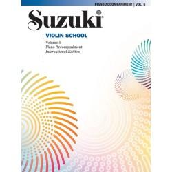 SUZUKI / VIOLIN SCHOOL / 35172, PIANO ACCOMPANIMEN