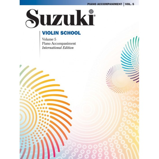 SUZUKI / VIOLIN SCHOOL / 35172, PIANO ACCOMPANIMEN