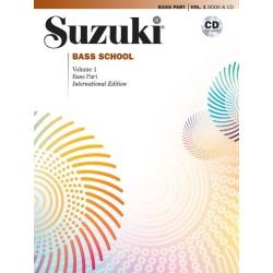 SUZUKI BASS SCHOOL / 40727, REVISED EDITION / BASS