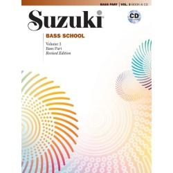 SUZUKI BASS SCHOOL / 40733, REVISED EDITION / BASS