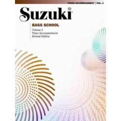 SUZUKI BASS SCHOOL / 0377S, PIANO ACCOMPANIMENT VO