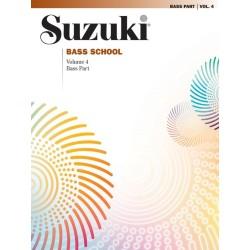 SUZUKI BASS SCHOOL / 28359, BASS PART / VOL.4