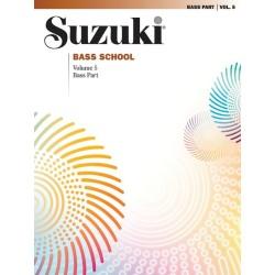 SUZUKI BASS SCHOOL / 28362, BASS PART / VOL.5