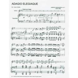 ADAGIO ELEGIAQUE OP.5 NA SKRZ. I FORTEPIAN