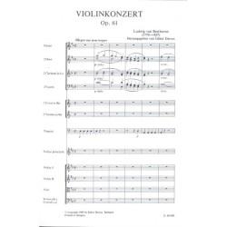 VIOLIN CONCERTO OP. 61 D-DUR / SCORE