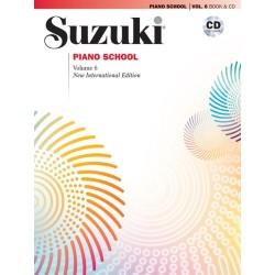SUZUKI / PIANO SCHOOL / 32636, VOL. 6 + CD