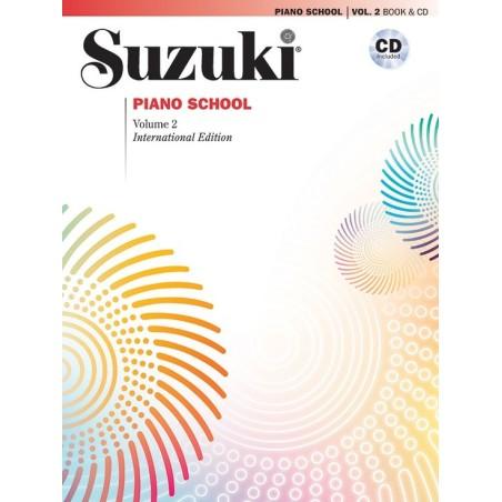 SUZUKI PIANO SCHOOL VOL. 2 + CD
