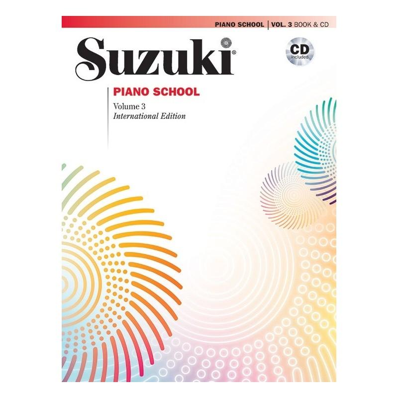 SUZUKI / PIANO SCHOOL / 30034, VOL.3 + CD