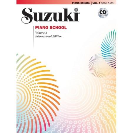 SUZUKI PIANO SCHOOL VOL. 3 + CD