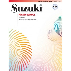 SUZUKI / PIANO SCHOOL / 32634, VOL.5 + CD