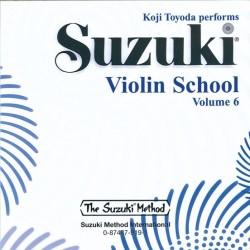 SUZUKI / VIOLIN SCHOOL / 0919, CD DO ZESZYTÓW SKRZ