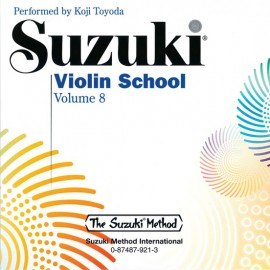 SUZUKI / VIOLIN SCHOOL / 0921, CD DO ZESZYTÓW SKRZ