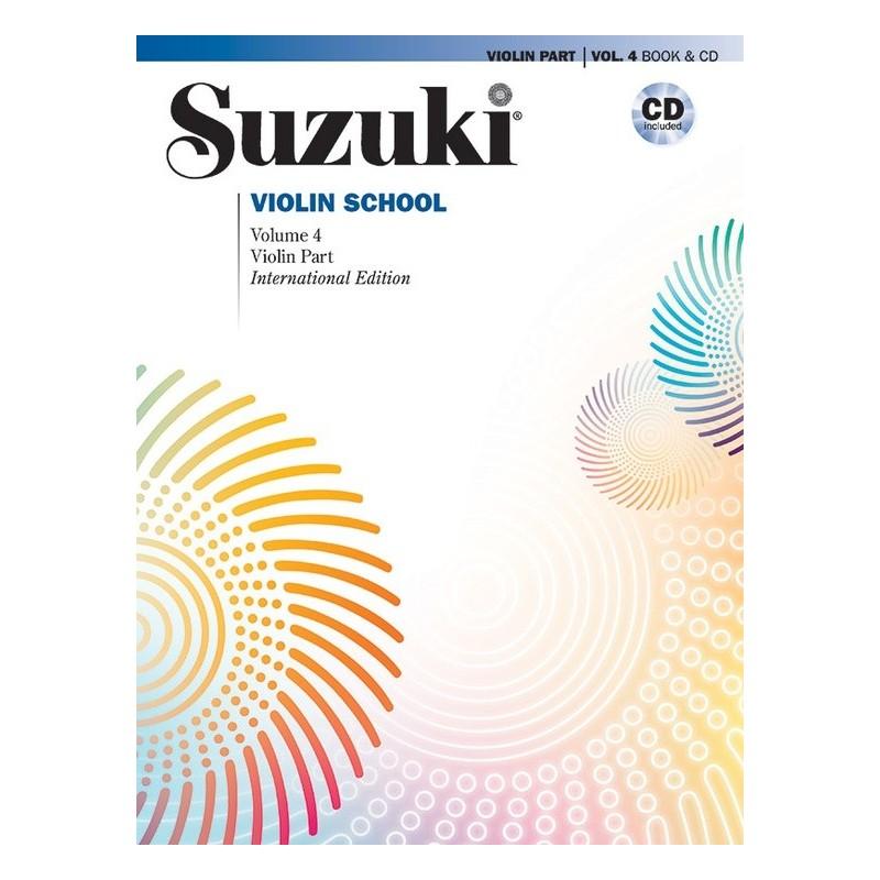 SUZUKI / VIOLIN SCHOOL / 30725, REVISED ED. / VIOL