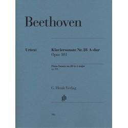 PIANO SONATA NO.28 A-DUR OP.101