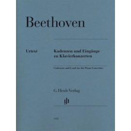 CADENZAS AND LEAD-INS FOR PIANO CONCERTOS