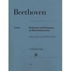 CADENZAS AND LEAD-INS FOR PIANO CONCERTOS