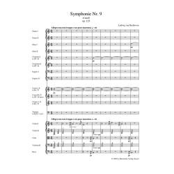 SYMPHONY NO.9 D-MOLL  OP.125