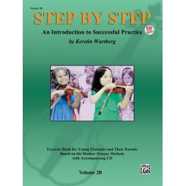 STEP BY STEP FOR VIOLIN / VOL. 2B