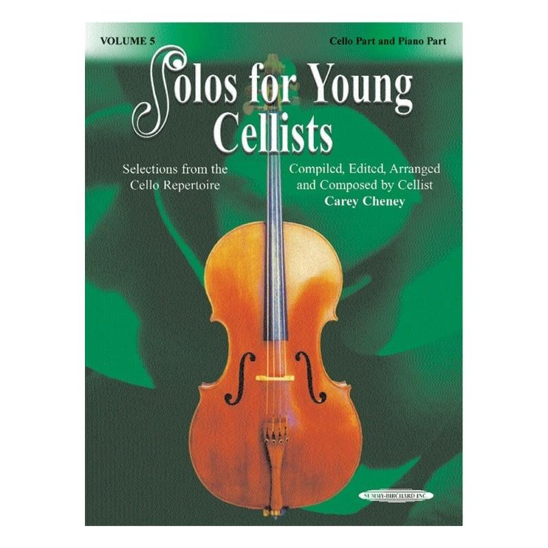SUZUKI SOLOS YOUNG CELLISTS  VOL.5 / CELLO & PIANO