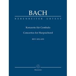 KONZERTOS FOR HARPSICHORD MAŁA PART. BWV 1052-1059