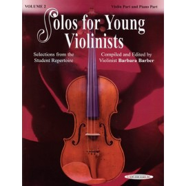 BARBER BARBARA / 0989, SOLOS FOR JOUNG VIOLINISTS