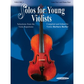BARBER BARBARA / 18400X, SOLOS FOR YOUNG VIOLISTS