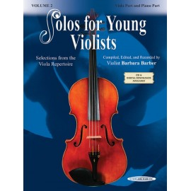 BARBER BARBARA / 18590X, SOLOS FOR YOUNG VIOLISTS