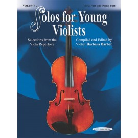 BARBER BARBARA / 18670X, SOLOS FOR YOUNG VIOLISTS
