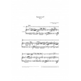BACH C.PH.E. UT50289, WORKS FOR VIOLIN AND HARPSIC
