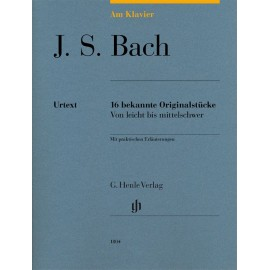 BACH J.S. HN1804, WORKS FOR PIANO