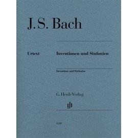 BACH J.S. HN1589, INVENTIONS & SINFONIAS / BEZ APL