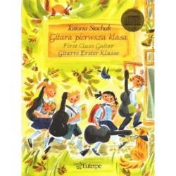 STACHAK T.  EU0401CD, GITARA PIERWSZA KLASA  + CD