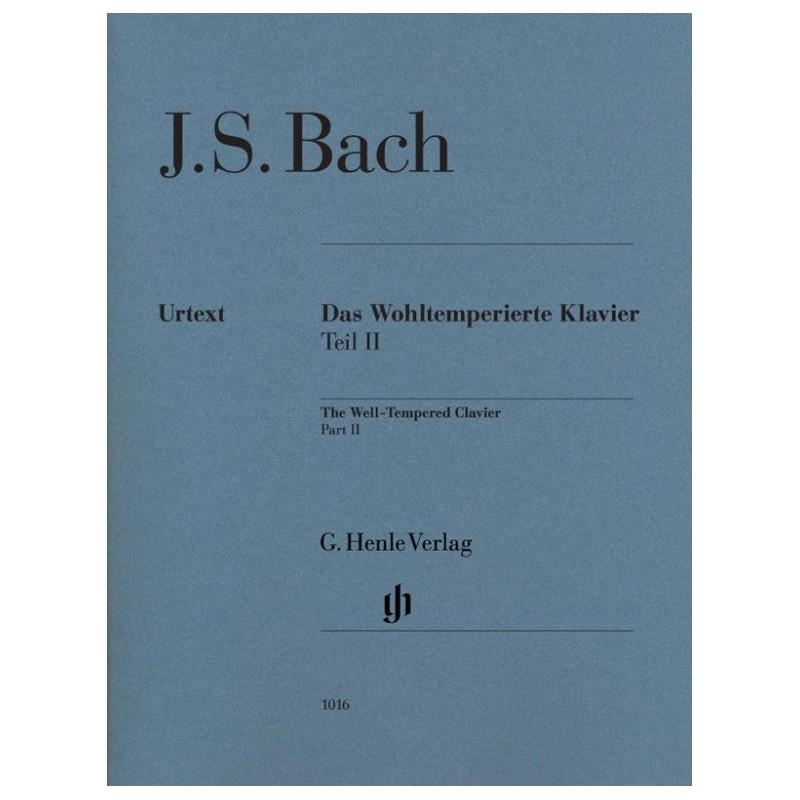 BACH J.S. HN1016, DAS WOHLTEMPERIERTE KLAVIER Z.2