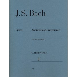 BACH J.S. HN591, TWO PART INWENTIONS / Z APLIKATUR