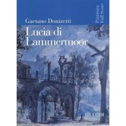 LUCIA DI LAMMERMOOR FULL SCORE