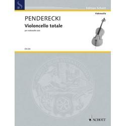 PENDERECKI K. CB234, VIOLONCELLO TOTALE
