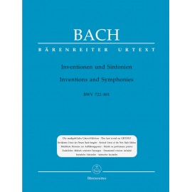 INVENTIONS & SYMPHONIES   BWV 772-801