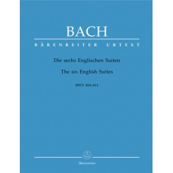 SIX ENGLISH SUITES    BWV 806-811