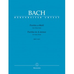 PARTITA A-MOLL NA FLET SOLO BWV 1013