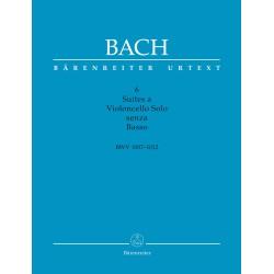6 SUITES A VIOLONCELLO SOLO SENZA BASSO BWV 1007-1