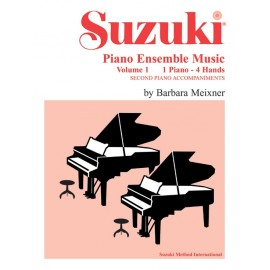 SUZUKI PIANO ENSAMBLE MUSIC VOL.1