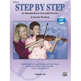 STEP BY STEP FOR VIOLIN / VOL. 3A