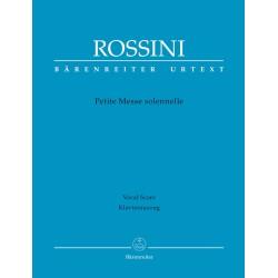PETITE MESSE SOLENNELLE   /  VOCAL SCORE