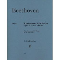 PIANO SONATA NO.26 ES-DUR OP.81A ( LES ADIEUX)