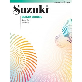 SUZUKI GUITAR SCHOOL, GUITAR PART VOL. 2