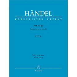 AMADIGI  HWV 11  / VOCAL SCORE