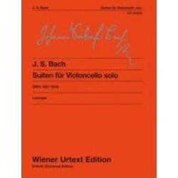 SUITES FOR VIOLONCELLO SOLO BWV 1007-1012