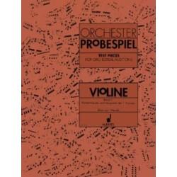 ORCHESTER PROBESPIEL / VIOLINE  V.1