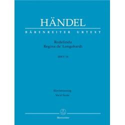 RODELINDA, REGINA DE'LONGOBARDI  HWV 19   VOCAL SC